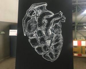 Ausstellung bei der Klangschicht Bielefeld
